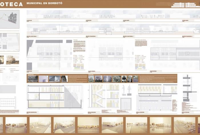 Maquetación _ PFC _ biblioteca en Borbotó _ Octubre 2010 _ arquiayuda