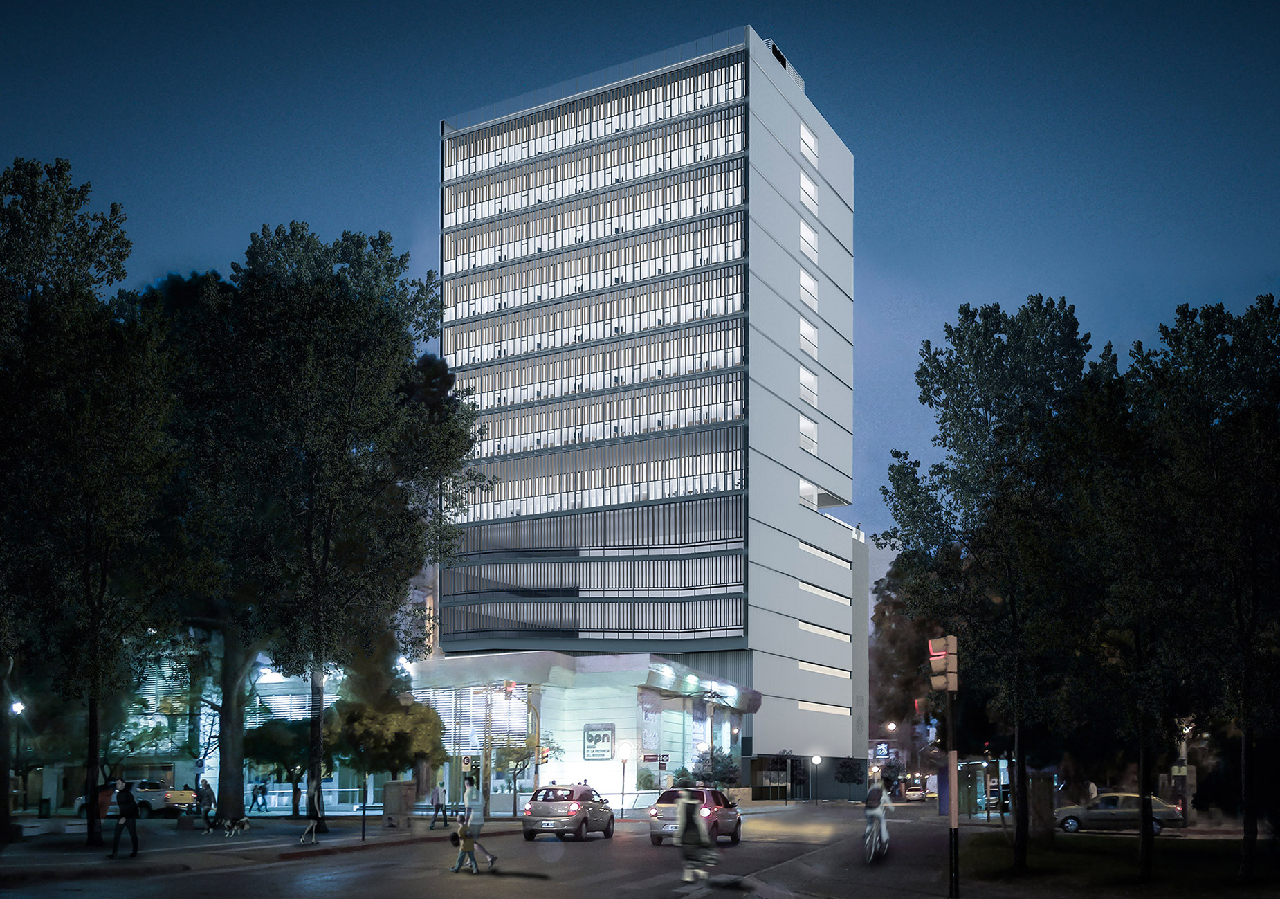 Concurso Nueva Sede del Banco Provincia de Neuquén