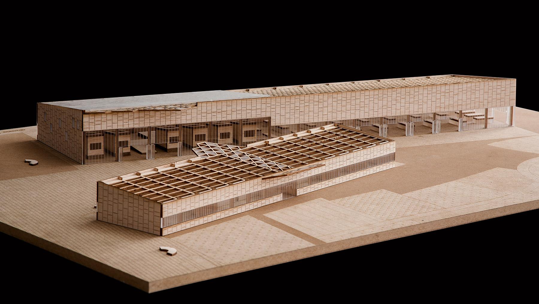 Maqueta centro de artesanos arquiayuda ayuda pfc - Servicios de arquitectura ...