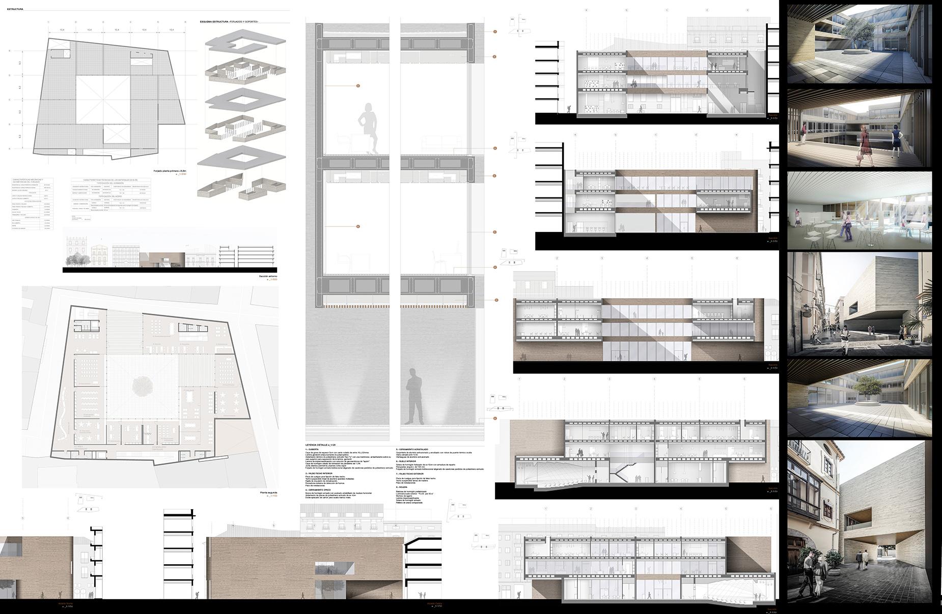 Biblioteca y centro de conocimiento en valencia - Trabajo arquitecto valencia ...