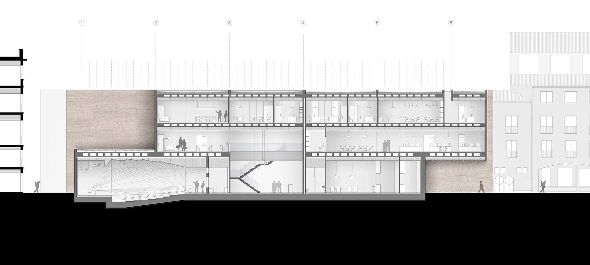 Biblioteca y centro de conocimiento en valencia - Servicios de arquitectura ...