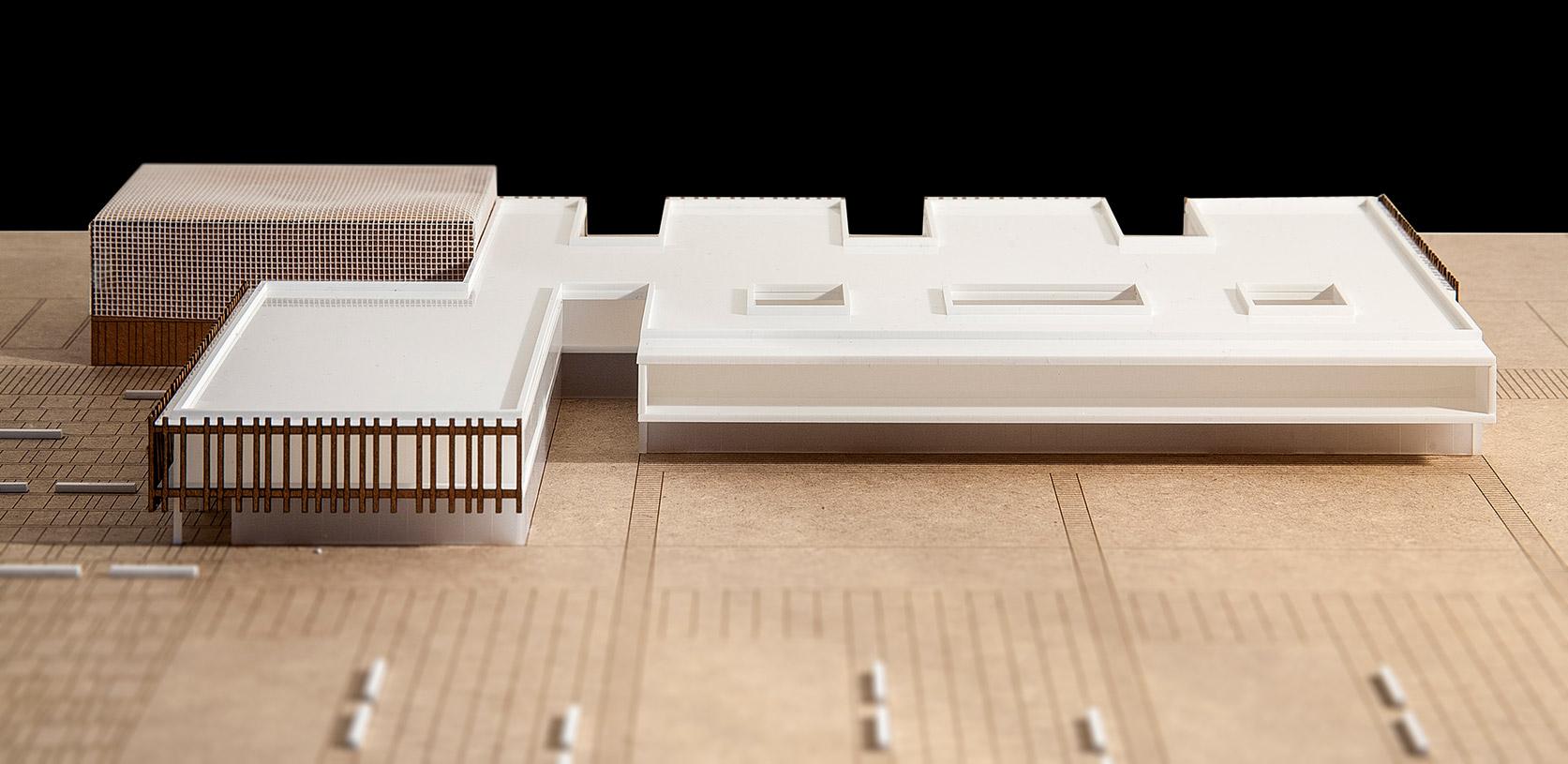 Maqueta arquitectura coworking arquiayuda ayuda pfc - Servicios de arquitectura ...