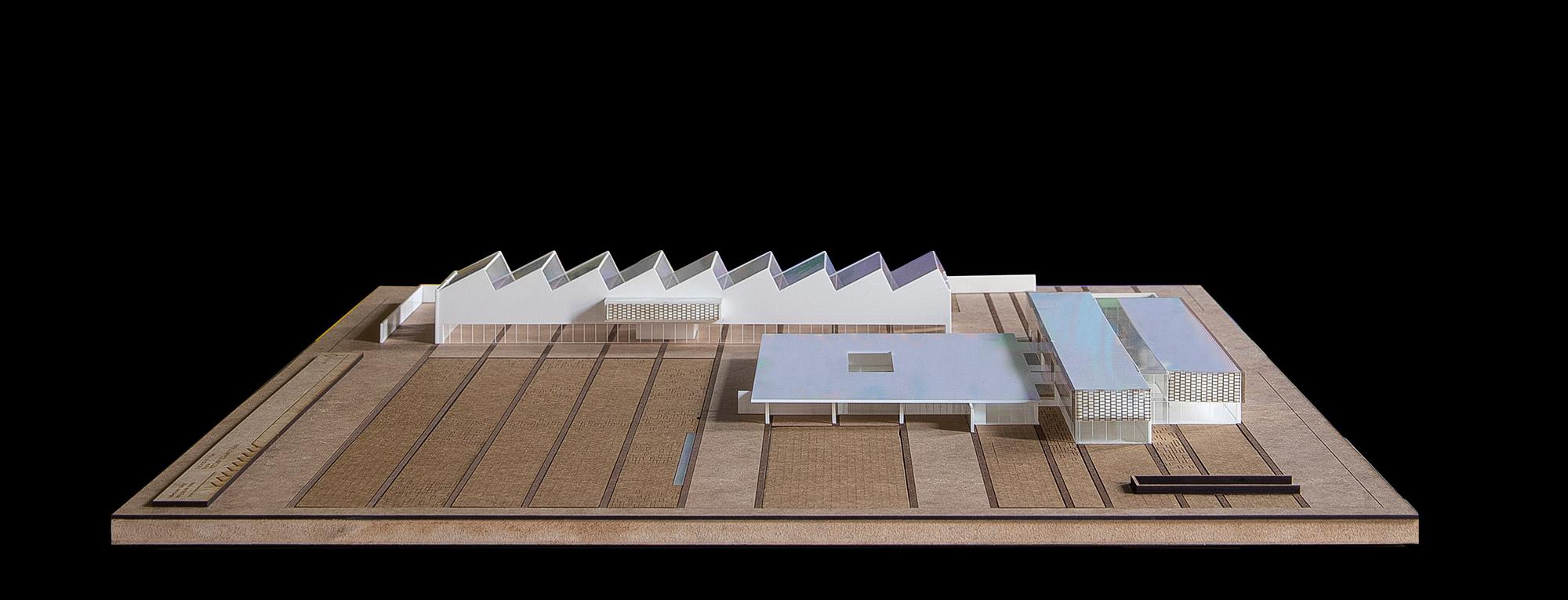 Maqueta arquitectura pfc tfg upv coworking macosa 4 - Servicios de arquitectura ...