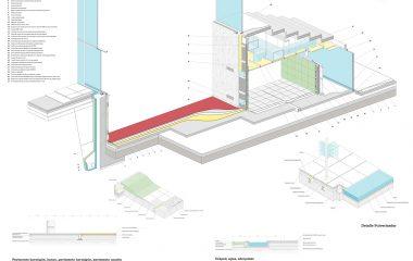 detalle constructivo trabajo final de grado de arquitectura
