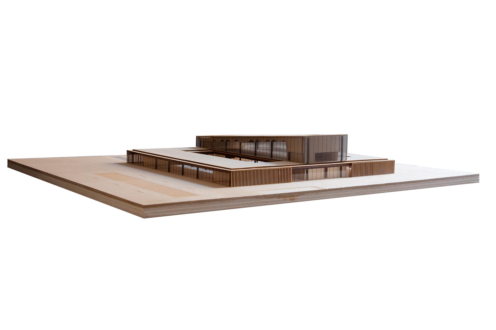 Maqueta para trabajo final de grado de arquitectura for Grado superior arquitectura